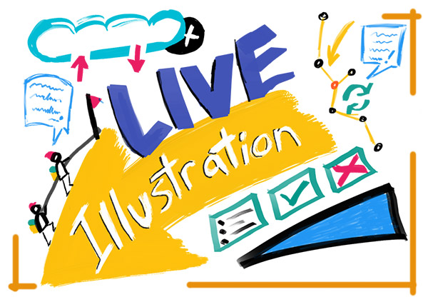 Graphic Recording, Live Illustration, Brainstorming